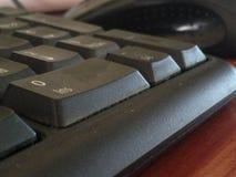 在键盘的第零 免版税库存照片