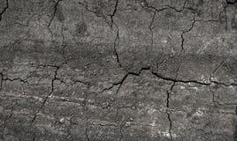 在镇压的干燥地球 免版税图库摄影