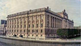 瑞典-全景的Paralament 免版税库存图片