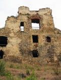 在镇Bakov附近的城堡Zviretice 图库摄影
