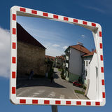在镜子的世界 免版税库存照片