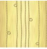 在镶边背景的金黄绳子 在梯度背景的无缝的传染媒介样式 皇族释放例证