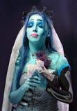 在长久光之下的尸体新娘 免版税库存照片