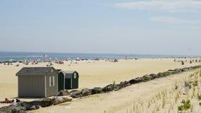 在长的分支的海滩在新泽西 库存照片