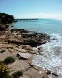 在长袍南澳洲的海湾 免版税图库摄影