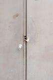 在门的万能钥匙 库存图片