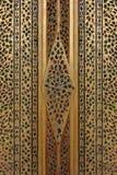 在门的泰国文化艺术 库存图片