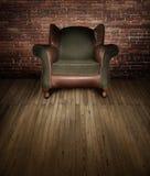 在阶段的椅子 免版税库存图片