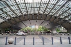在阿亚拉三角的轻和声音展示 免版税库存照片