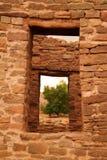 在阿兹台克人新墨西哥的废墟 免版税库存照片