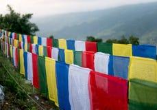 在阿南达小山顶的世界和平塔在博克拉 免版税库存图片