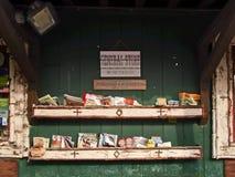 在阿地伦达山脉的百货商店 库存图片