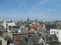 在阿姆斯特丹之上 免版税库存照片