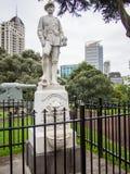在阿尔伯特公园,奥克兰,新西兰的布尔战争纪念品 免版税库存图片