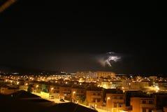 在阿尔梅里雅的雷暴 图库摄影