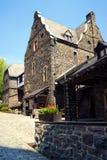 在阿尔特纳里面中世纪城堡  库存图片