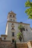 在阿尔罕布拉宫宫殿的钟楼 免版税图库摄影