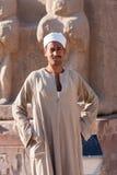 在阿布・辛拜勒神庙附近的埃及人,埃及 库存图片