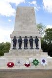 在阿德默勒尔蒂岛,伦敦威斯敏斯特前面的战争纪念碑, 免版税库存图片