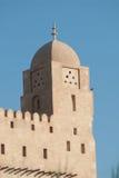 在阿拉伯房子的手表塔 库存照片