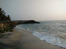 在阿拉伯海的海滩 库存图片
