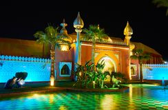 在阿拉伯童话, Sharm El谢赫,埃及 免版税库存照片