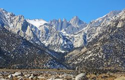 在阿拉巴马小山的Mt惠特尼, 免版税库存照片