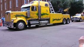 在阿拉巴马的十八位轮车卷 库存照片