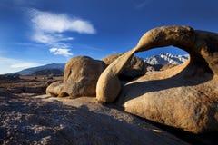 在阿拉巴马小山的自然曲拱 库存图片
