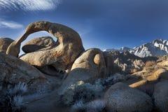 在阿拉巴马小山的自然曲拱 免版税图库摄影