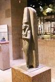 在阿斯旺博物馆-埃及的古老雕象 库存照片