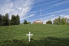 在阿灵顿公墓的JFK纪念品 免版税库存照片