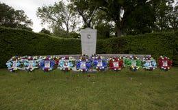 在阿灵顿国家公墓的纪念品 免版税库存照片