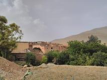 在阿特拉斯山脉的古老文明 库存图片