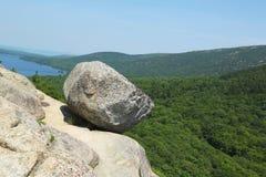 在阿科底亚国家公园的泡影岩石 免版税库存照片