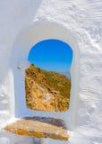 在阿莫尔戈斯岛海岛在希腊 免版税库存照片