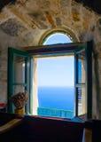 在阿莫尔戈斯岛海岛在希腊 库存图片
