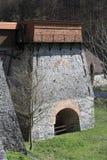 在阿达莫夫附近的老鼓风炉 库存照片