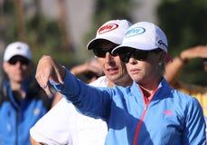 在阿那启发高尔夫球比赛的宝拉盛奶油小壶2015年 免版税库存图片