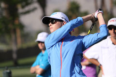 在阿那启发高尔夫球比赛的宝拉盛奶油小壶2015年 图库摄影