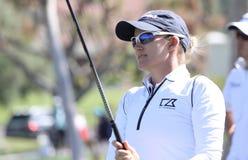 在阿那启发高尔夫球比赛的萨拉珍妮匠2015年 免版税库存照片