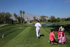 在阿那启发高尔夫球比赛的詹尼弗歌曲2015年 免版税库存图片
