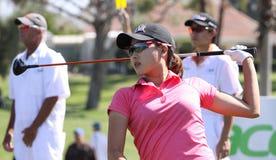 在阿那启发高尔夫球比赛的詹尼弗歌曲2015年 免版税库存照片
