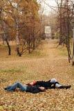 在陆运的休眠 图库摄影