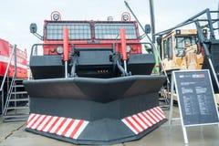 在陈列的灭火消防车MPT-521 免版税库存图片