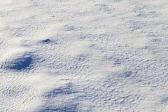 在降雪以后的雪 图库摄影