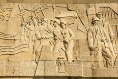 在障壁的纪念碑在上海,中国 图库摄影