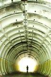 在隧道的图 图库摄影