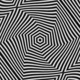 在难看的东西样式,黑白,作用运动的圆样式 库存图片