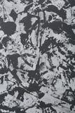 在难看的东西纹理,艺术性的时髦的背景,特写镜头,顶视图的抽象黑白绘画 库存照片